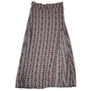 Brandy Melville Women's Side Slit Maxi Skirt
